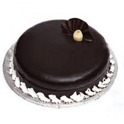 Scrumptious Chocolate Truffle Cake