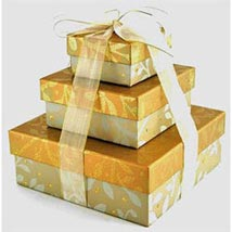 Elegant Gold Gift Basket: Gift Hampers to Philippines