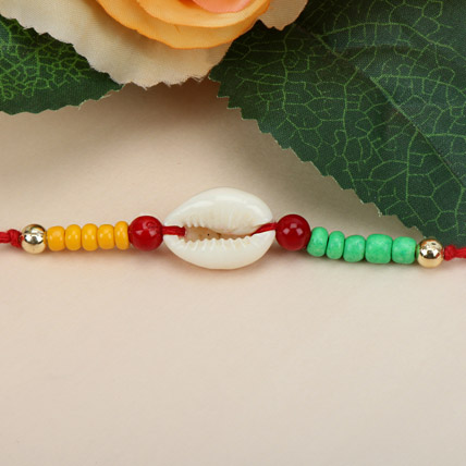 Sea Shell Charm Rakhi RUS