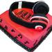 Headphone Shape Cake 3Kg Chocolate