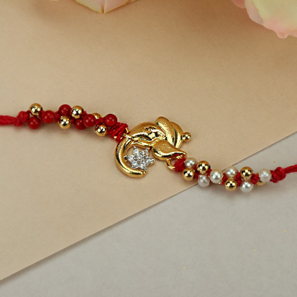 Graceful Ganesha Rakhi SAU