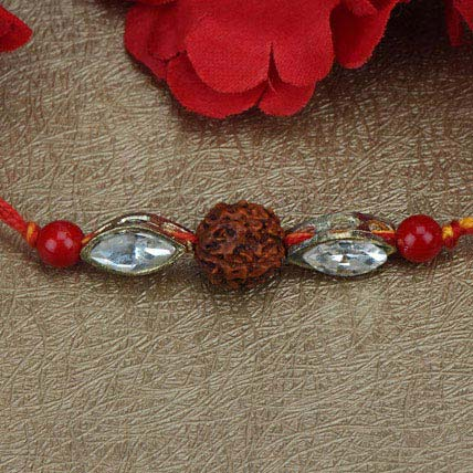 Love For Rudraksha Rakhi SAU