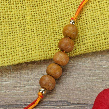 Simple Chandan Rakhi SAU