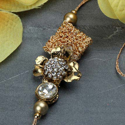 Delightful Antique Rakhi TUR