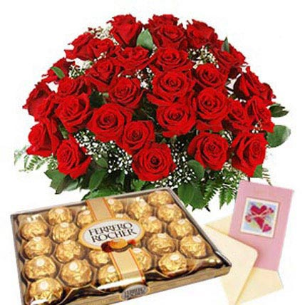 Choco Floral Medley