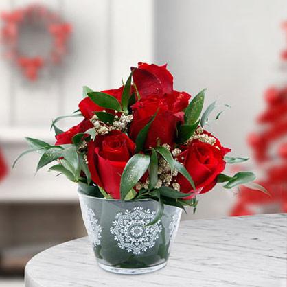 Let It Snow Bouquet
