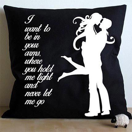 Mad For Each Other Cushion