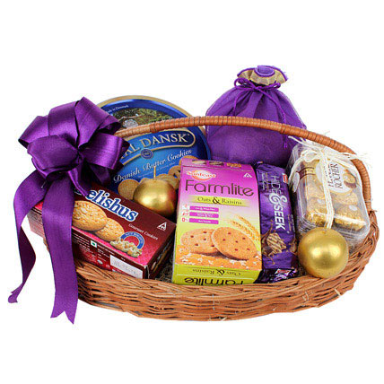 Snack Attack Bhaidooj Basket