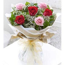 Red and Pink: Send Flower Bouquets to UAE