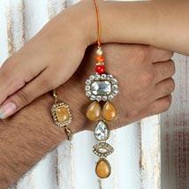 Sacred Thread: Rakhi for Bhaiya Bhabhi UAE