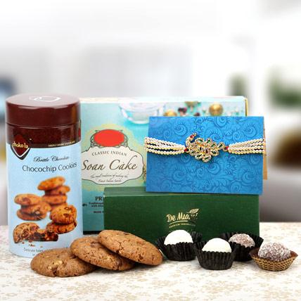 Choco Cookie Rakhi Delight
