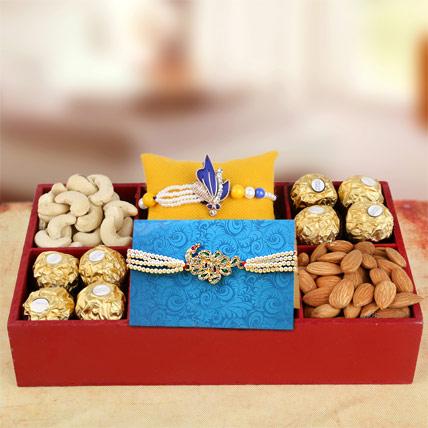 Sweet and Pure Rakhi Hamper