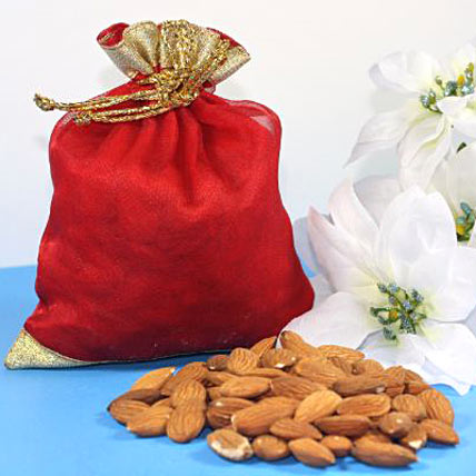Bhaidooj Wishes with Almonds