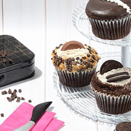 CRUMBS Signature Chocolate Lovers Cupcakes