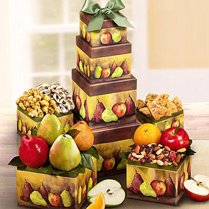 Fruit n Snacks Tower