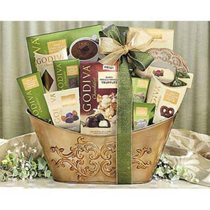 Godiva Collection Gift Basket
