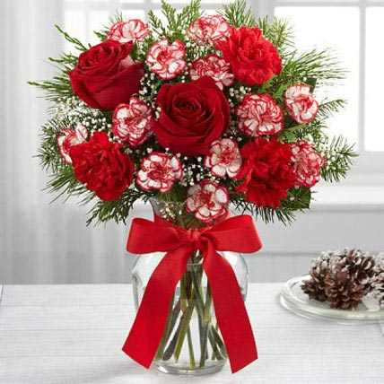Holiday Bloom Bouquet