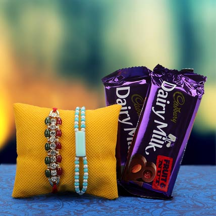 Twin Love Rakhi Hamper