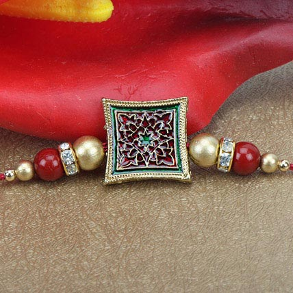 Touch Of Meenakari Rakhi VIE