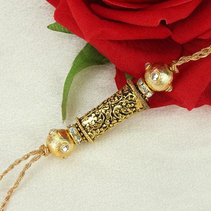 Beauty Of Bond Antique Rakhi ZAM